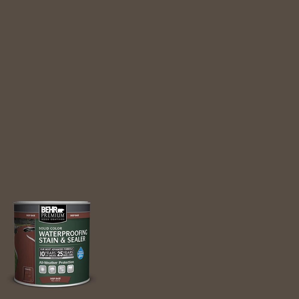 Sc 103 Coffee Solid Color Waterproofing Exterior Wood Stain