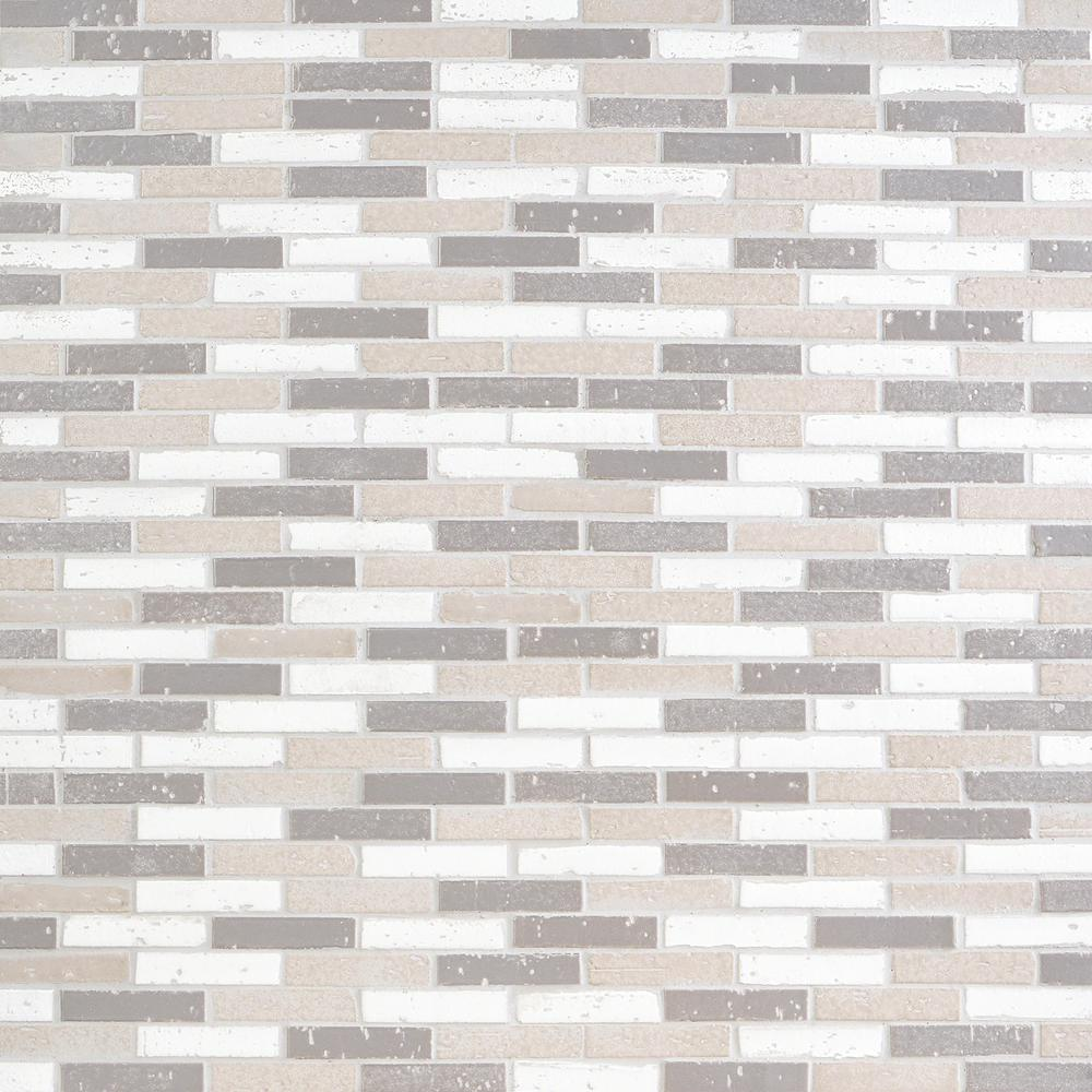 - Ivy Hill Tile Queen Brick Cold Mix 10.6 In. X 12.75 In. 12mm Matte