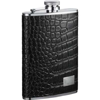 Gator Leather Hip Flask