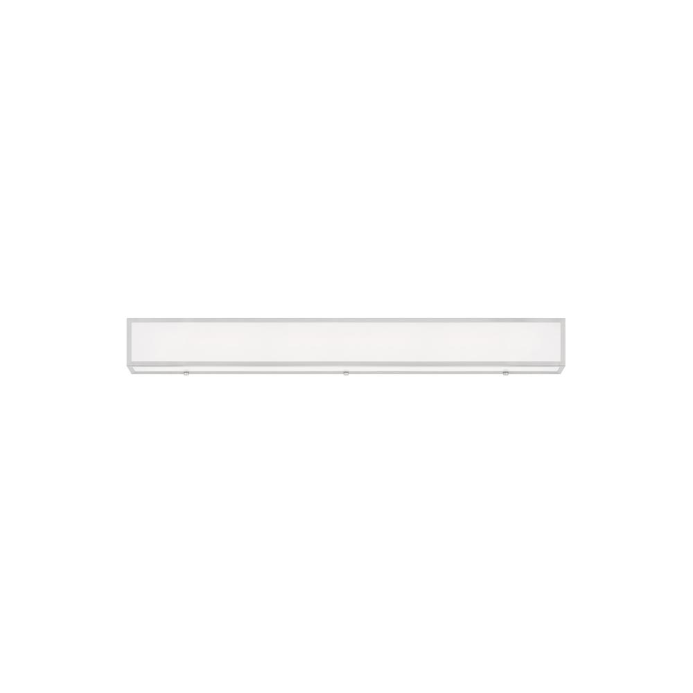 Sea Gull Lighting Aspermont 33-Watt Brushed Nickel Integrated LED Bath Light