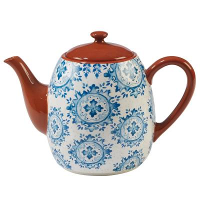 Porto 5-Cup Multi-Colored Teapot
