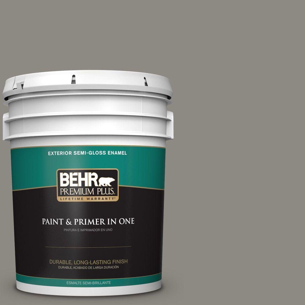 5-gal. #BXC-55 Concrete Sidewalk Semi-Gloss Enamel Exterior Paint