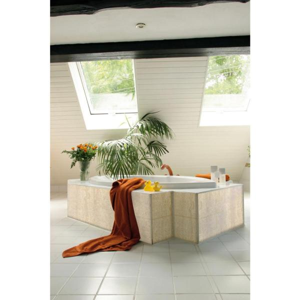 DC Fix 78.74 in. x 17.7 in. Beige Marble Adhesive Film