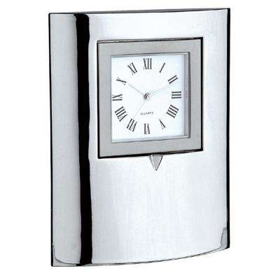 Mantle Mirror Desk Clock