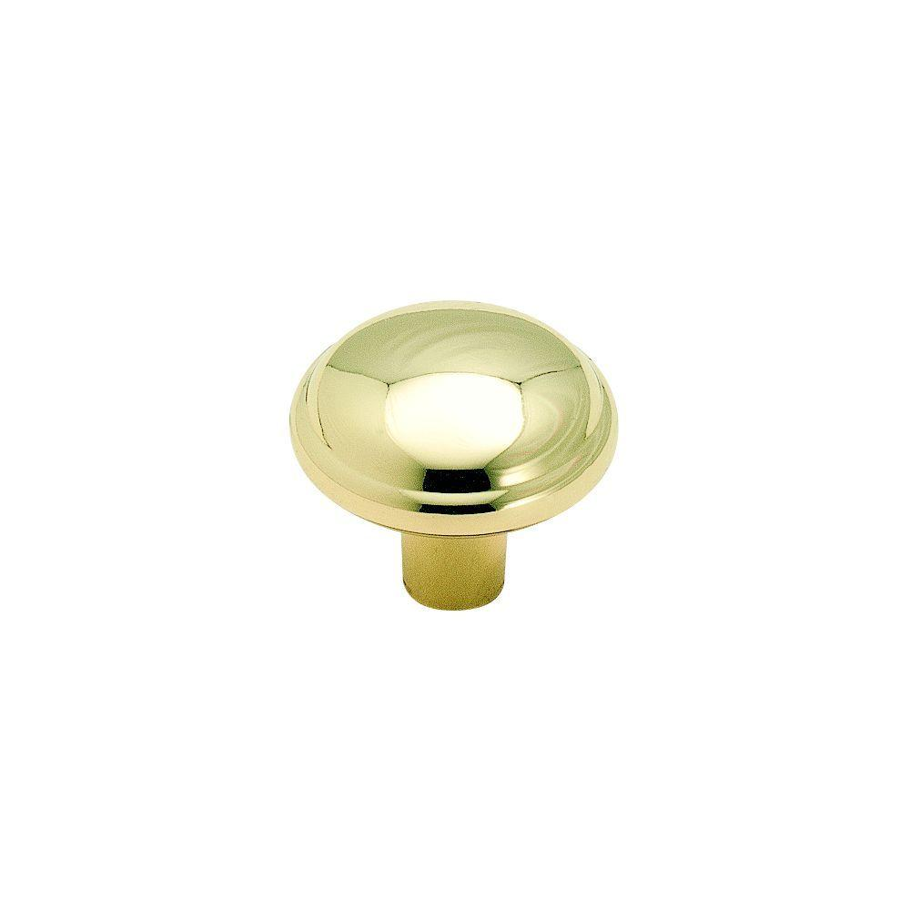 Delicieux Polished Brass Cabinet Knob