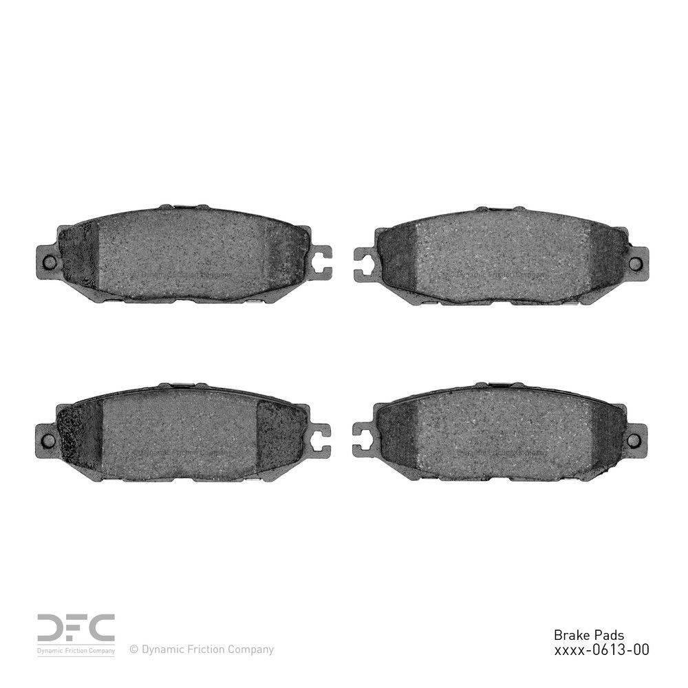 Dynamic Friction Company Dfc 5000 Advanced Brake Pads Ceramic 1993 2000 Lexus Ls400 1551 0613 00 The Home Depot