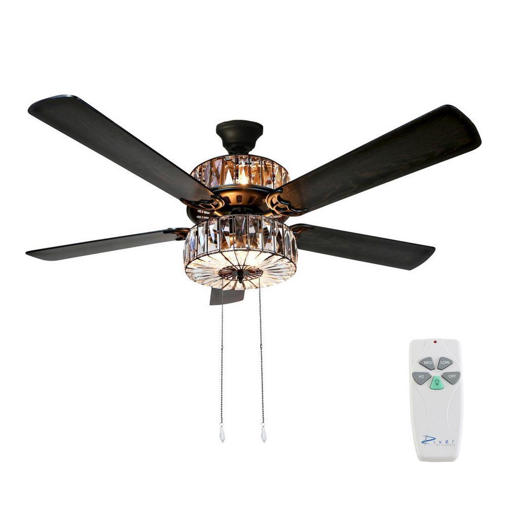 52 in. Clear Ceiling Fan