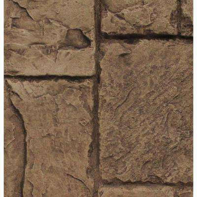 Cinnamon 8 in. x 8 in. x 3/4 in. Faux Windsor Stone Sample