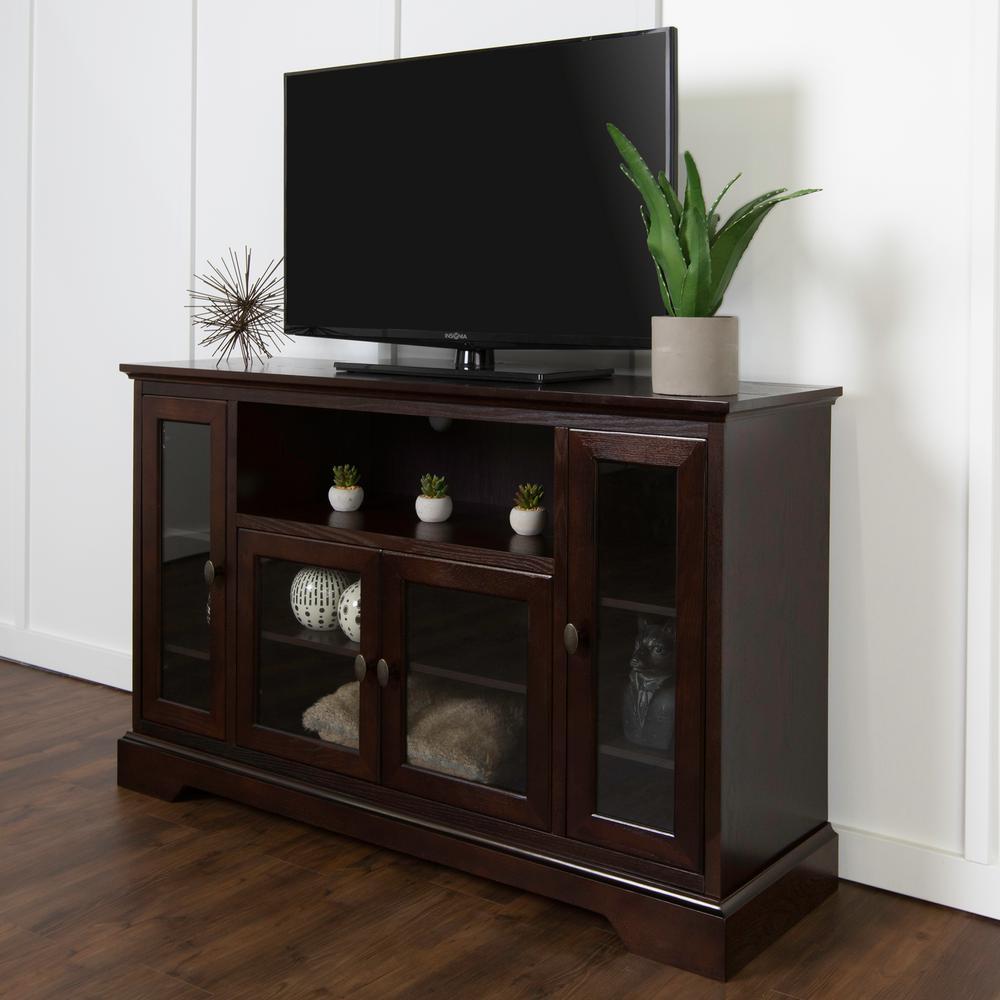 Walker Edison Furniture Company Espresso Entertainment Center HD52C32ES