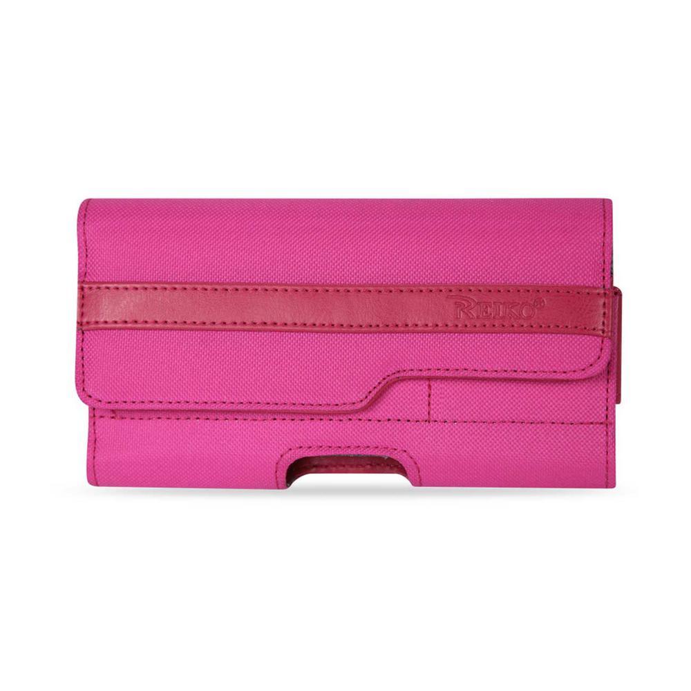 REIKO Medium Horizontal Rugged Holster in Hot Pink