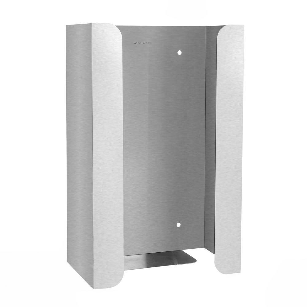 Single Capacity Stainless Steel Glove Box Dispenser