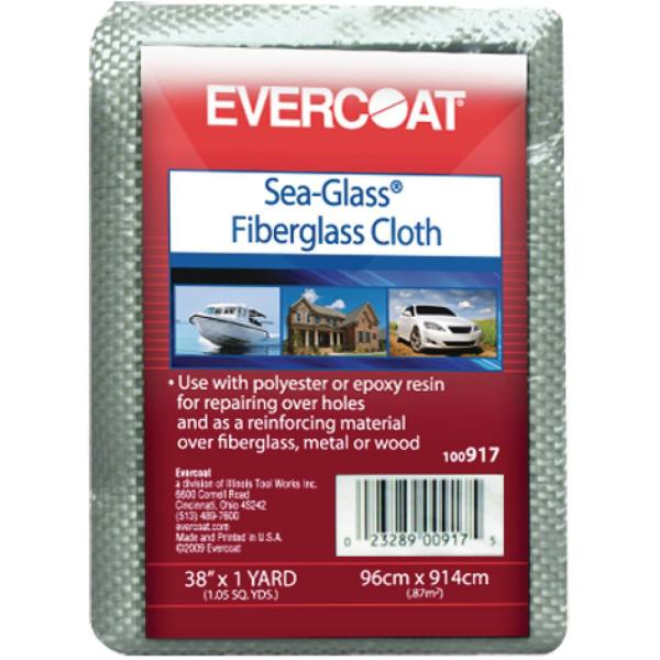 6 oz. 38 in. x 3 yds. Woven Fiberglass Cloth for All Marine Resins