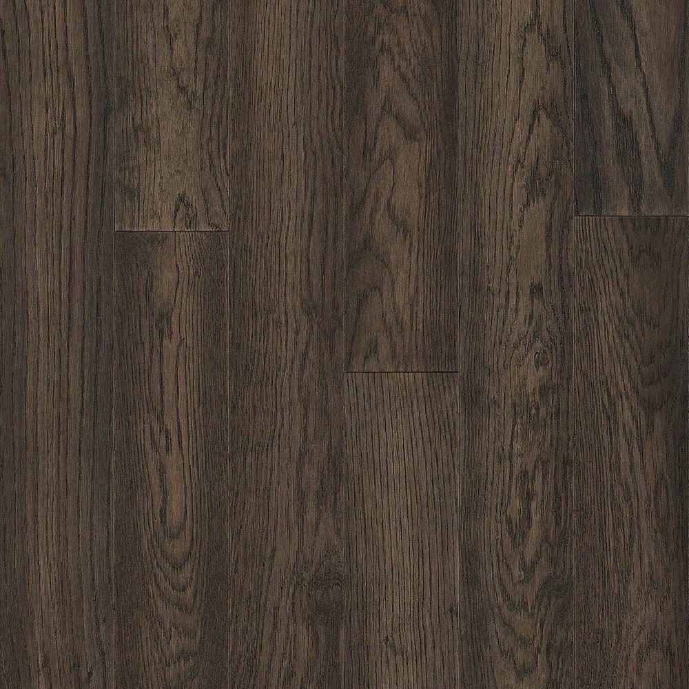 Hydropel Oak Dark Brown 7 16 In T X 5 W Varying Length Waterproof Engineered Hardwood Flooring 22 6 Sq Ft