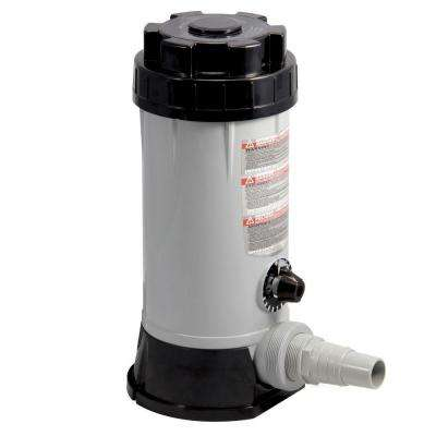 In-Line Automatic 9 lb. Chlorine Feeder for above Ground Pools