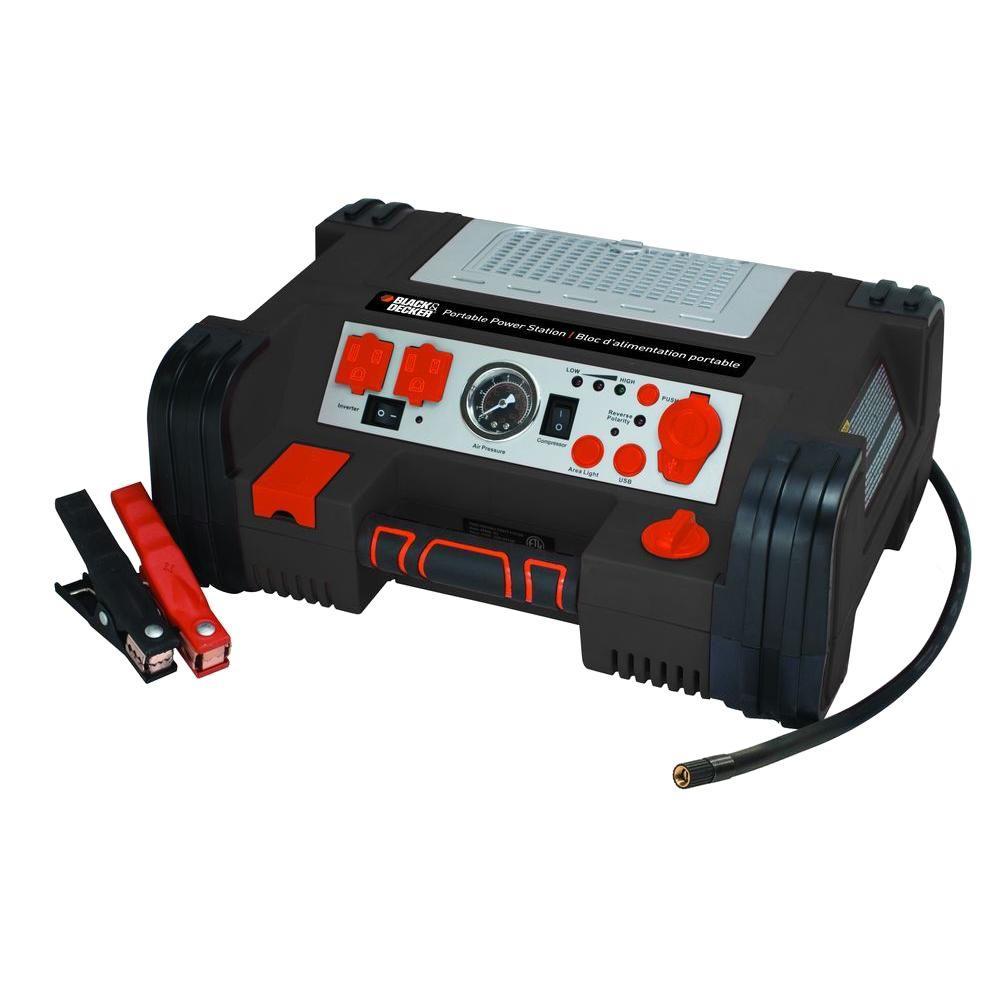 Black & Decker 500-Watt Portable Power Station by BLACK+DECKER