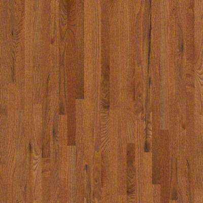 Take Home Sample - Woodale II Gunstock Solid Hardwood Flooring - 2-1/4 in. x 8 in.