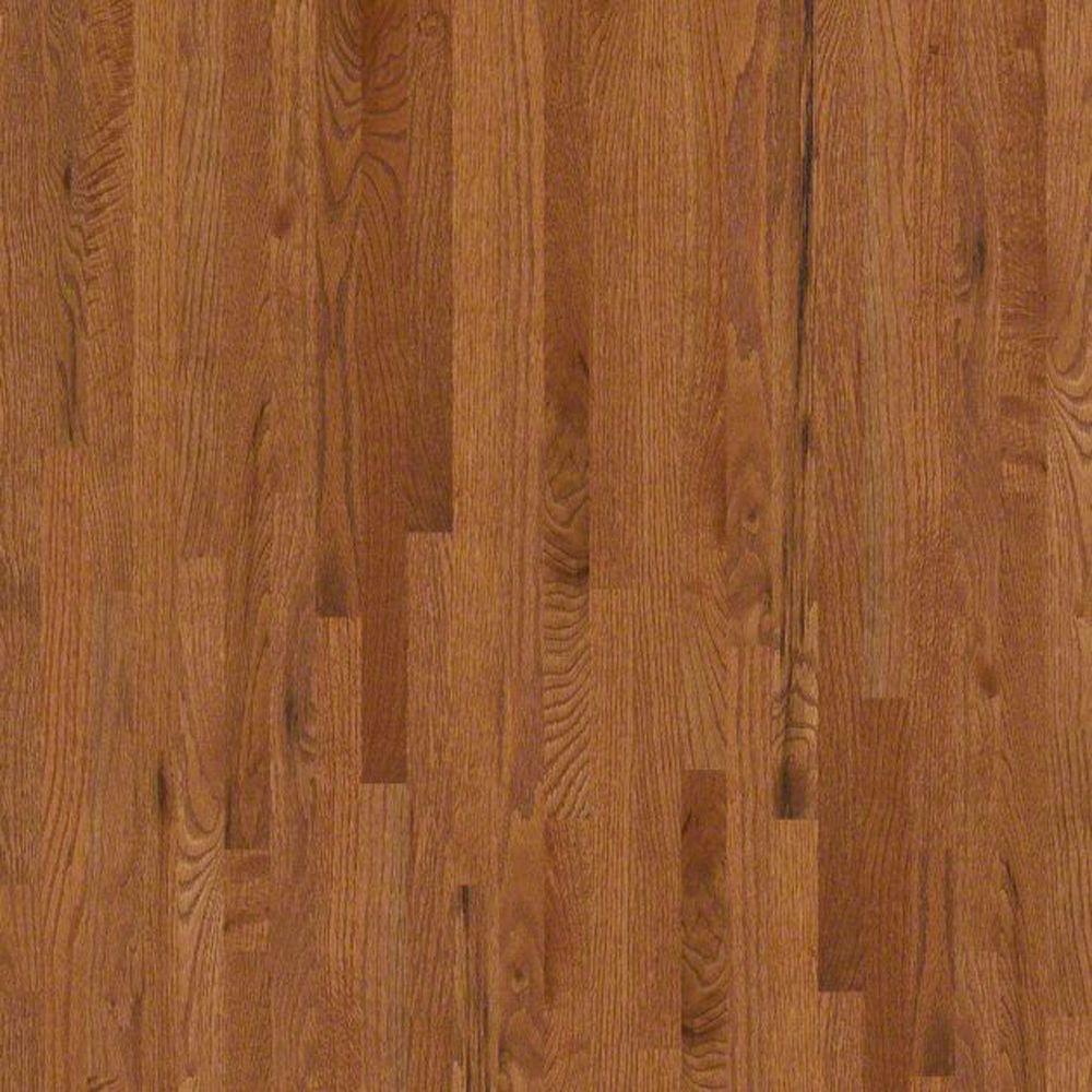 Take Home Sample - Woodale II Gunstock Solid Hardwood Flooring - 2-1/4 in. x 8 in.