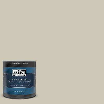 1 qt. #UL190-16 Coliseum Marble Satin Enamel Exterior Paint and Primer in One