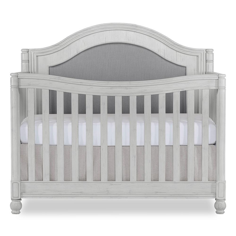 Kendal Antique Grey Mist Curve Top Convertible Crib