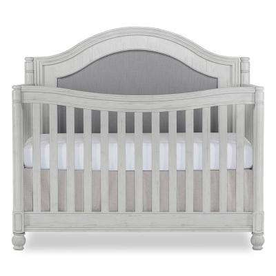 Kendal Antique Grey Mist Curve Top Convertible Crib