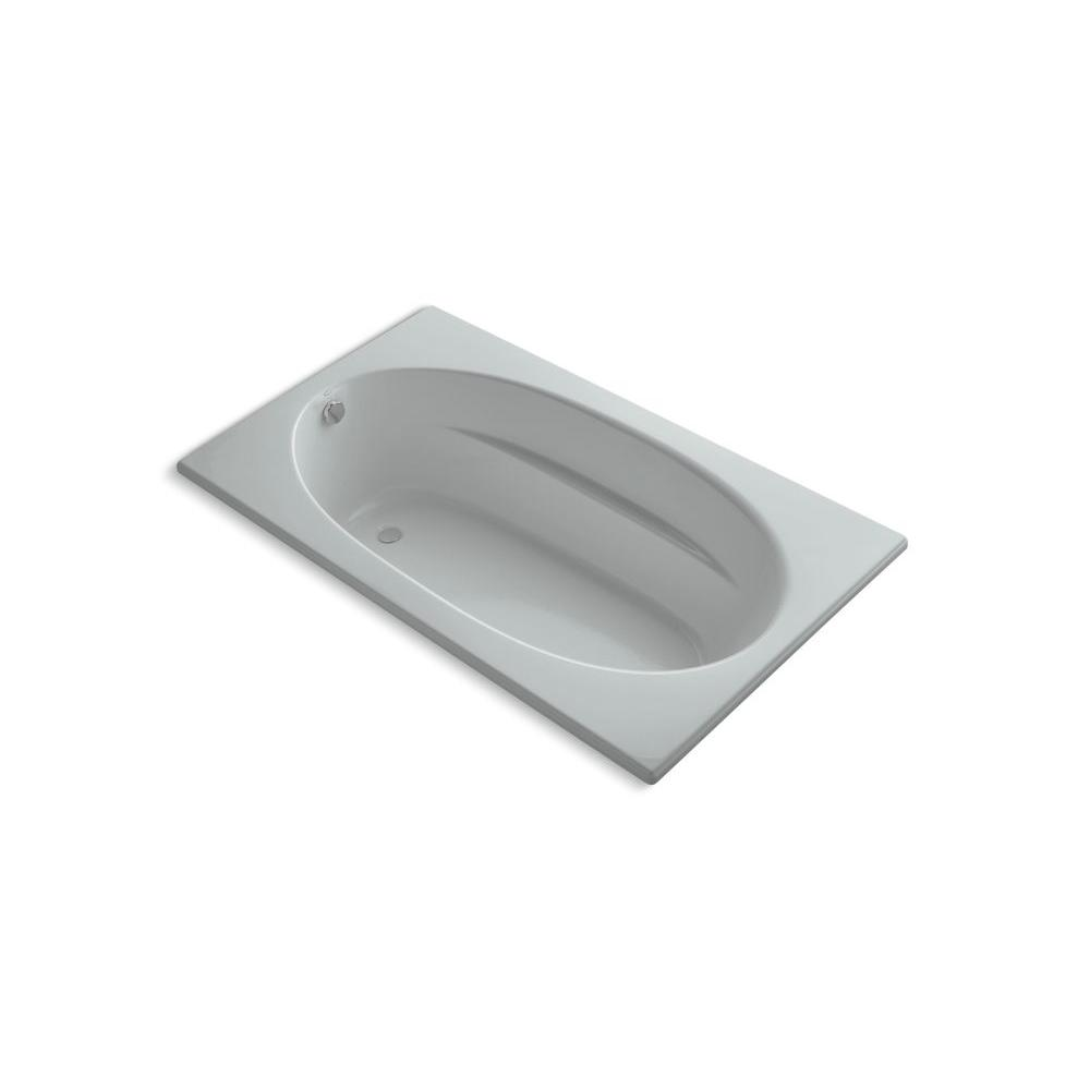 KOHLER Windward 6 ft. Bathtub in Ice Grey-DISCONTINUED