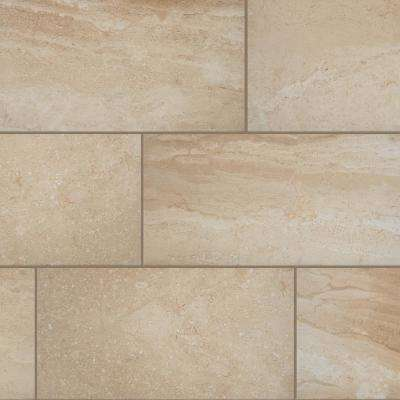 Elegance Beige 12 in. x 24 in. Porcelain Floor and Wall Tile (13.62 sq. ft./ case)