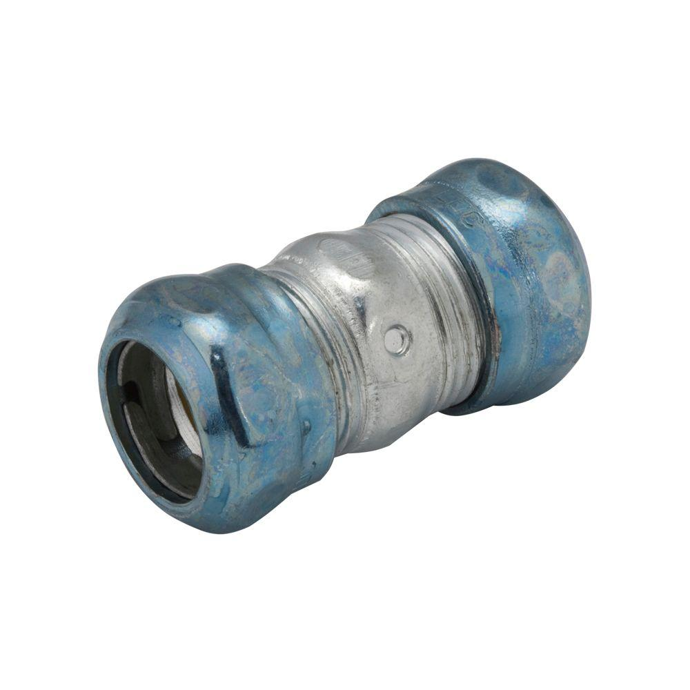 EMT 1-1/2 in. Raintight Compression Coupling (10-Pack)