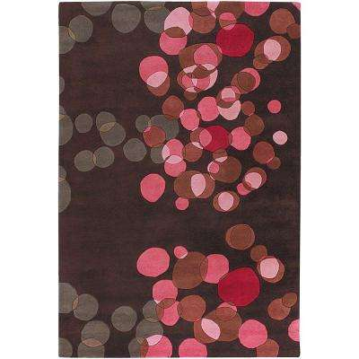 Avalisa Brown/Red/Pink/Taupe 5 ft. x 7 ft. 6 in. Indoor Area Rug