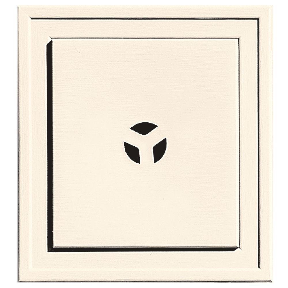 7.9375 in. x 7.3125 in. #021 Sandstone Beige Slim Line Universal Mounting Block
