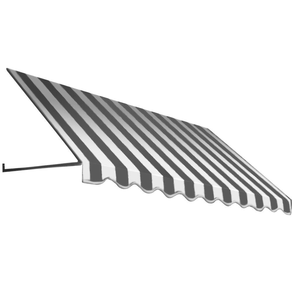 10 ft. Dallas Retro Window/Entry Awning (16 in. H x 30