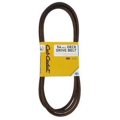 54 in. Deck Drive Belt for Cub Cadet Riding Mower