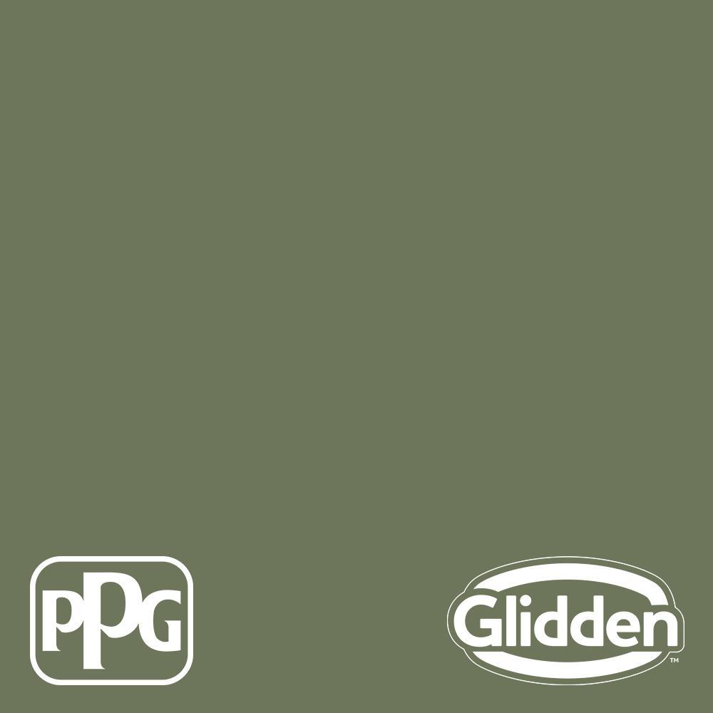 Glidden Essentials 1-gal  Dark Sage PPG1124-6 Eggshell Interior Paint