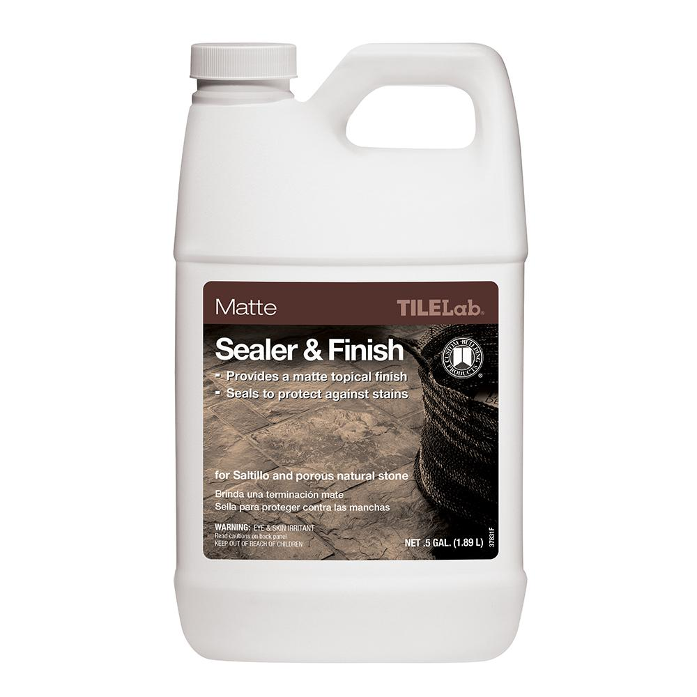 Custom Building Products TileLab 1/2 Gal. Matte Sealer and Finish