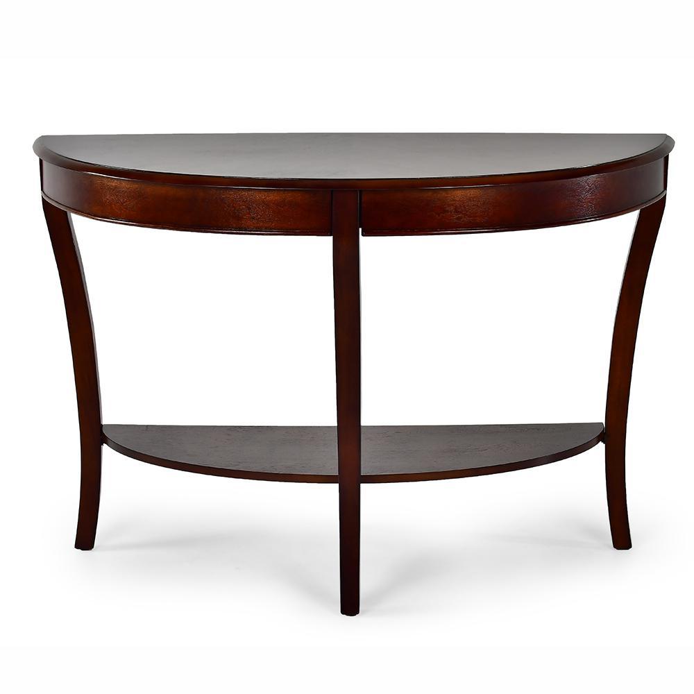Troy Medium Cherry Traditional Sofa Table
