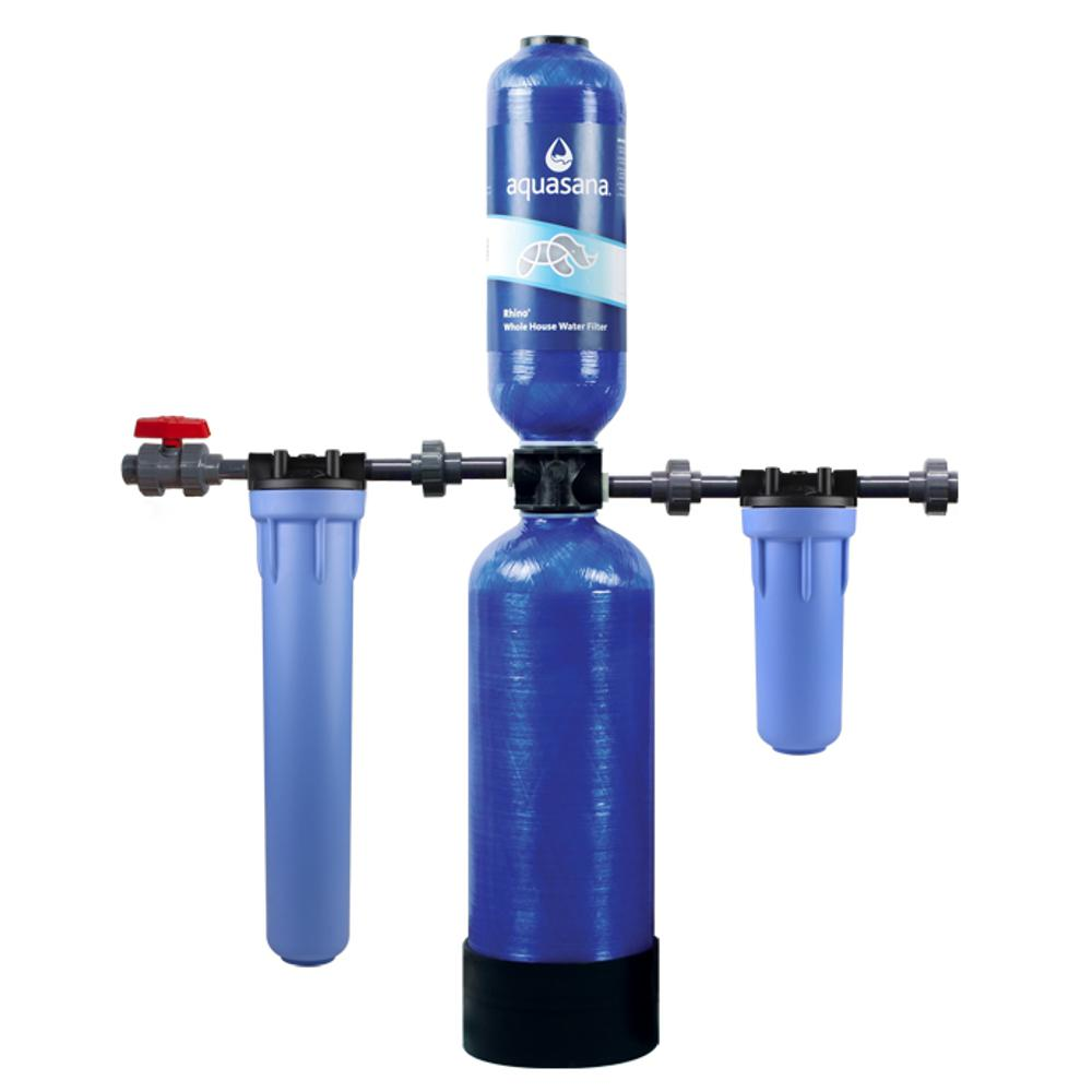 Rhino Series 4-Stage 1000000 Gal. Whole House Water Filtration System
