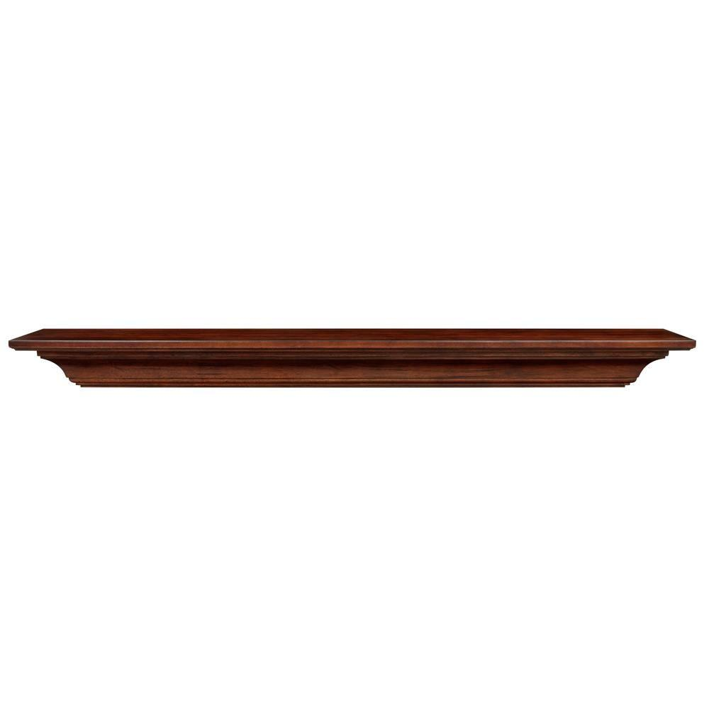 Rustica Hardware Smith Rustic 36 In X 10 In Mantel Shelf With Stain And Glaze Ms3smsgc1 The