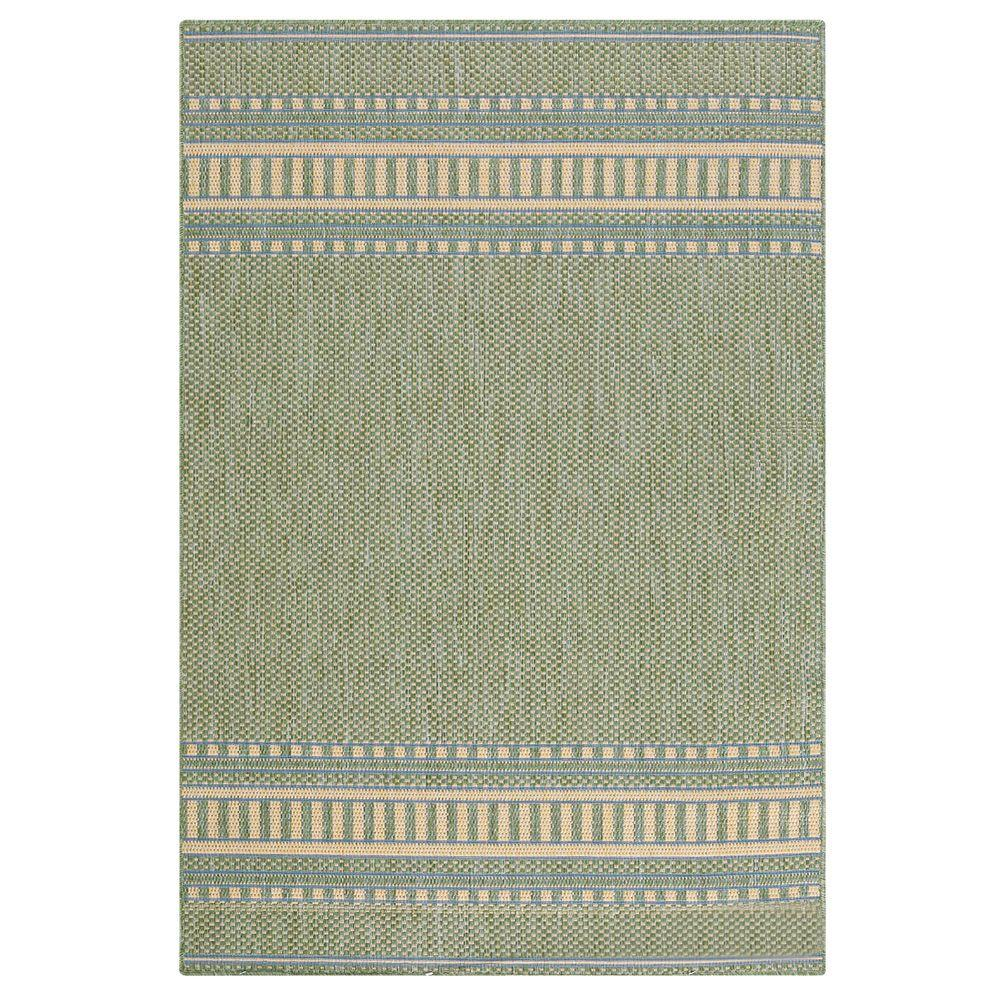 Home Decorators Collection Pueblo Design Green/Natural 8 ft. 6 in. x 13 ft. Area Rug