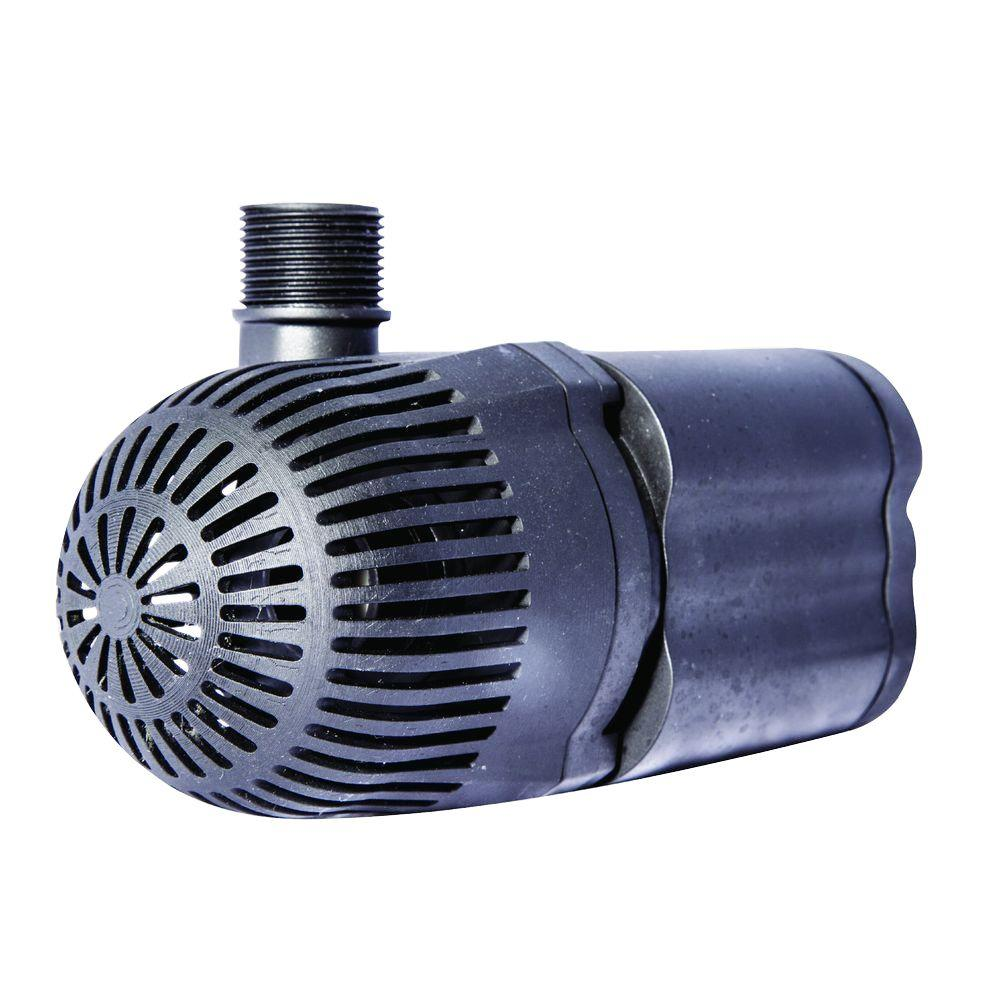 Total pond 1 200 gph waterfall pump ll1200 the home depot for Aquagarden 1200 pond pump