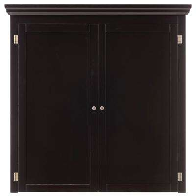 Prescott Solid Black Modular Pantry Open Top