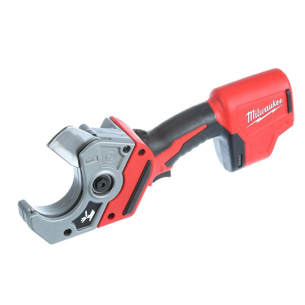 Milwaukee M12 12-Volt Lithium-Ion Cordless PVC Pipe Shear (Tool-Only)