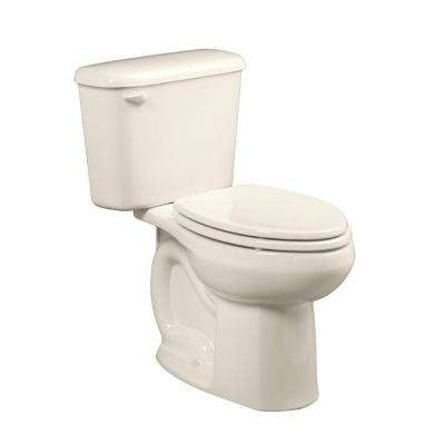 Colony Right Height 10 in. Rough-In 2-piece 1.6 GPF Single Flush Elongated Toilet in Linen