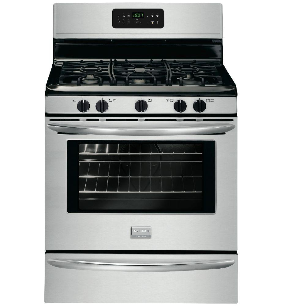 Frigidaire Gallery 5.0 cu. ft. Gas Range with Self-Cleaning Oven in Stainless Steel