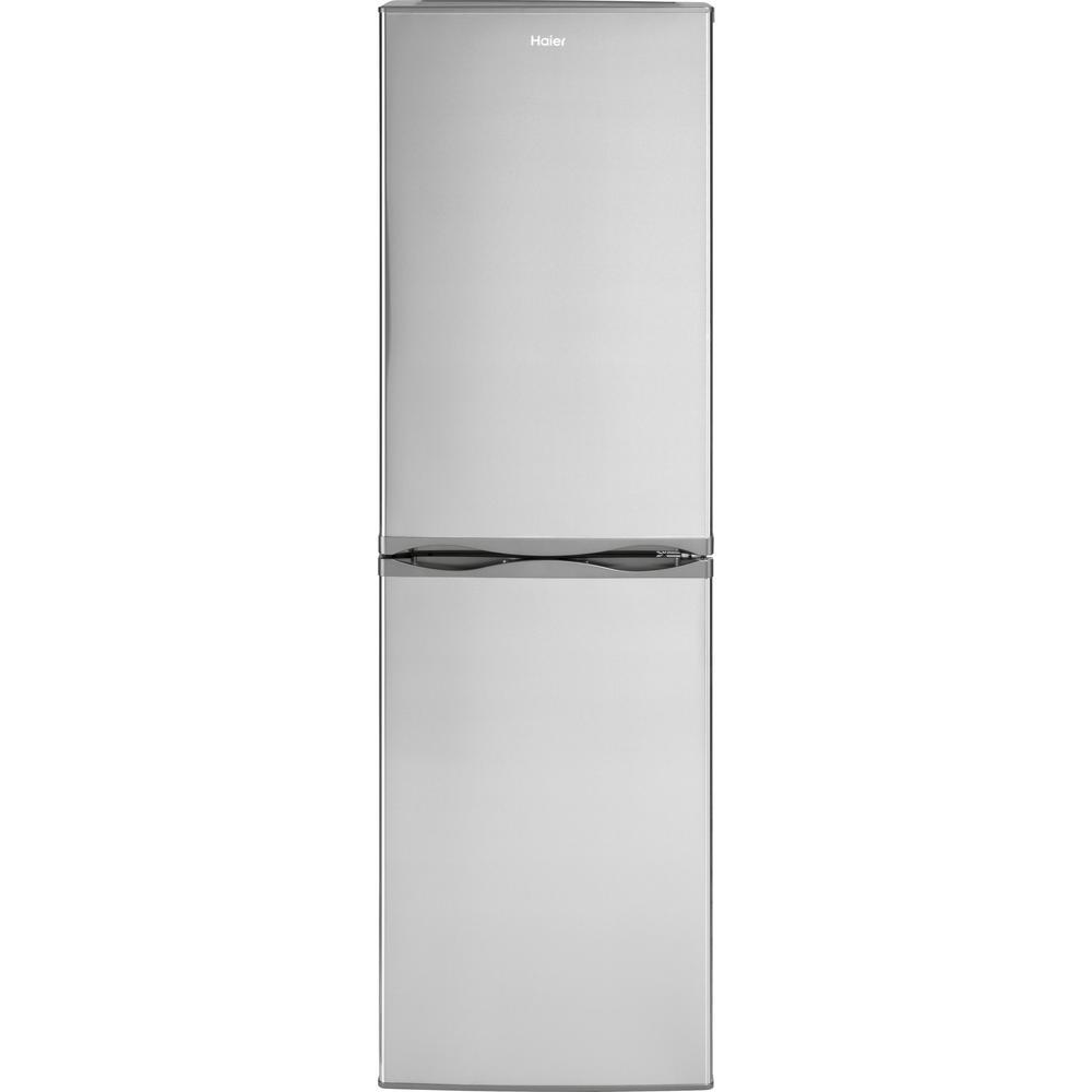 Haier 10.2 cu. ft. Bottom Freezer Refrigerator in Stainle...