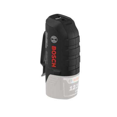 12-Volt Lithium-Ion Battery Holster/ Controller Compatible with Bosch 12-Volt Batteries