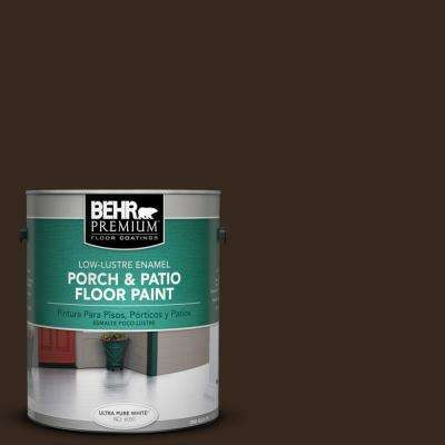 1 gal. #SC-105 Padre Brown Low-Lustre Interior/Exterior Porch and Patio Floor Paint