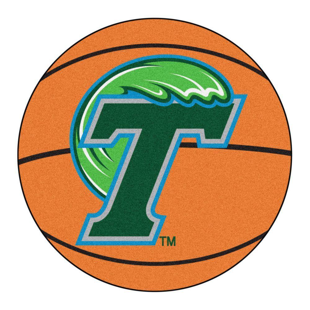 Fanmats Ncaa Tulane University Orange 2 Ft 3 In X 2 Ft