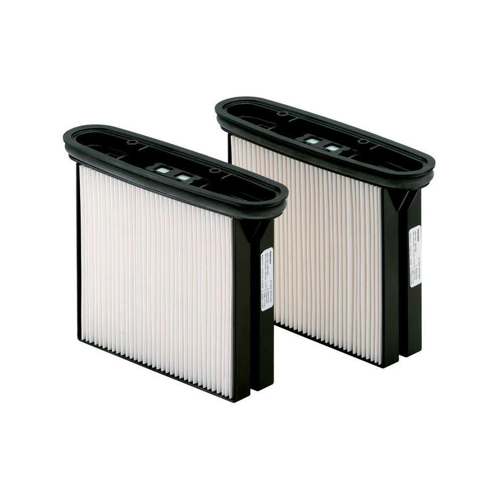 2 Hepa Polyester Filter Cassettes