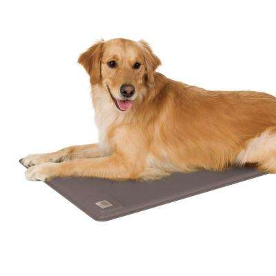 Lectro-Kennel Deluxe Large Gray Heated Dog Pad