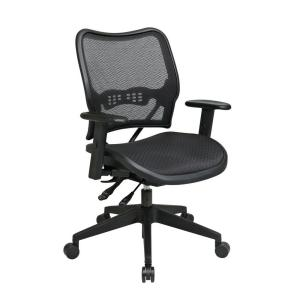 Deluxe Black AirGrid Back Office Chair