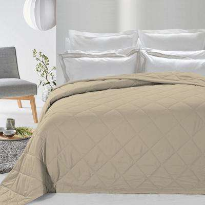 Never Down Khaki Alternative Blanket